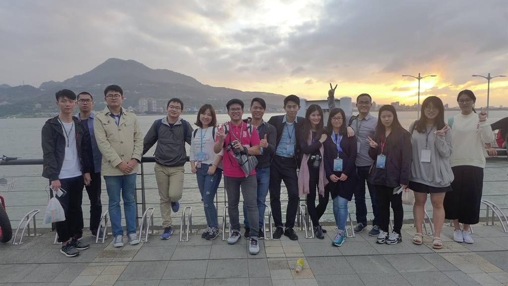 Tamsui trip for China students