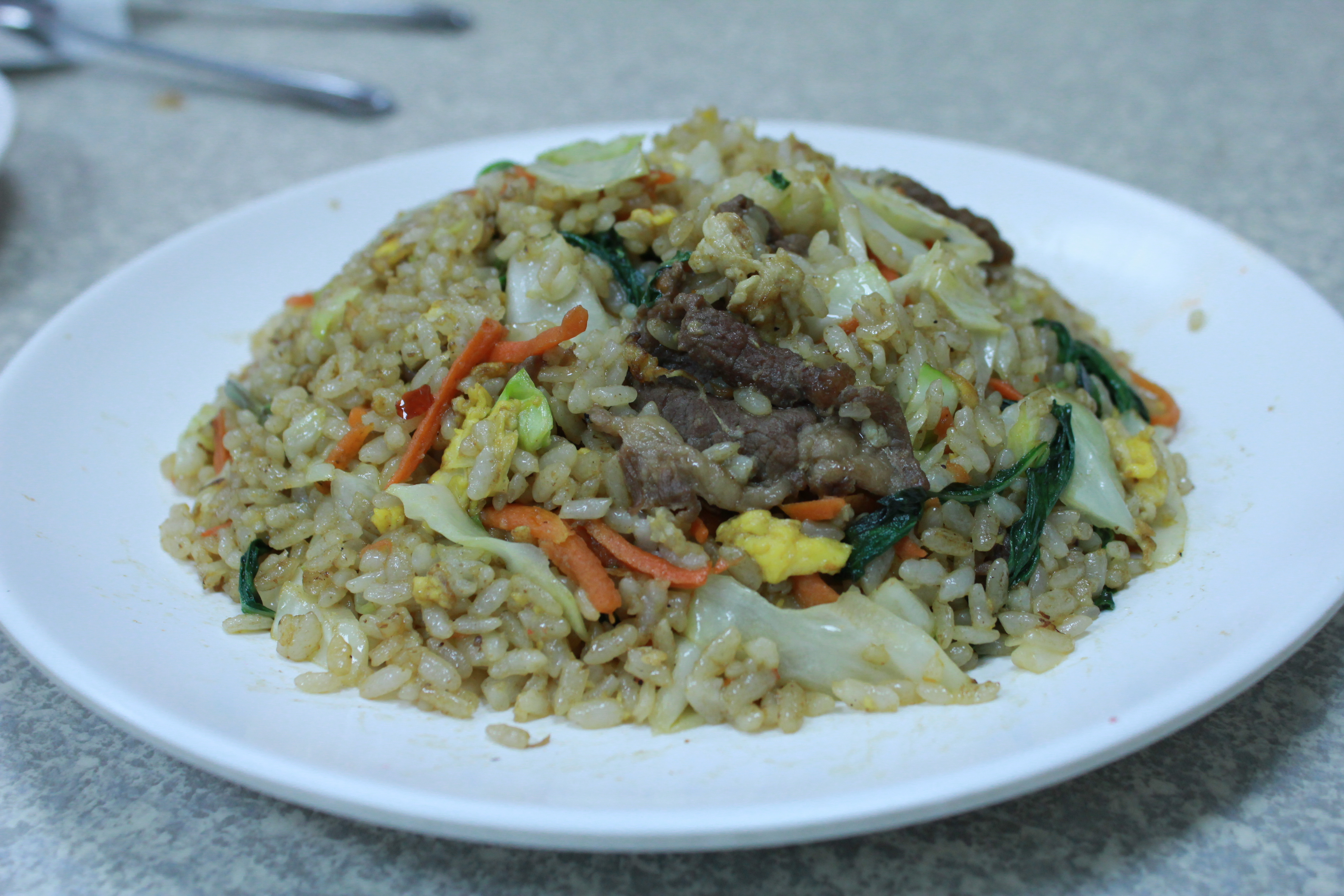 Beef and Basil Fried Rice
